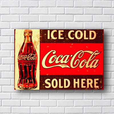 Quadro Coca Cola Ice Cold