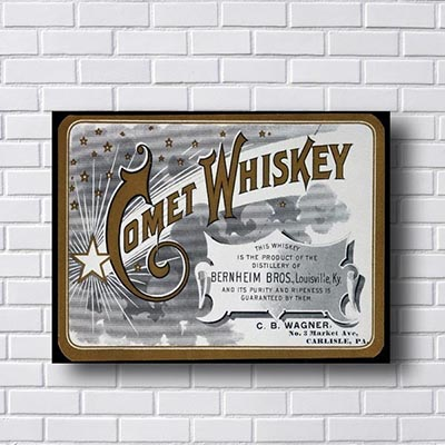 Quadro Comet Whiskey