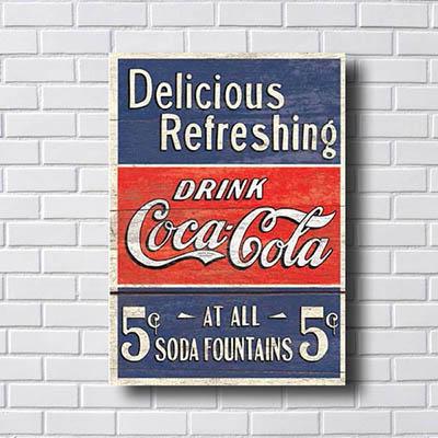Quadros Coca Cola Retro
