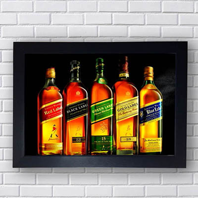 Quadros johnnie Walker
