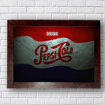 Quadros Pepsi Cola Drink