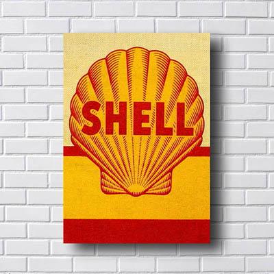 Quadro Carro Vintage Shell