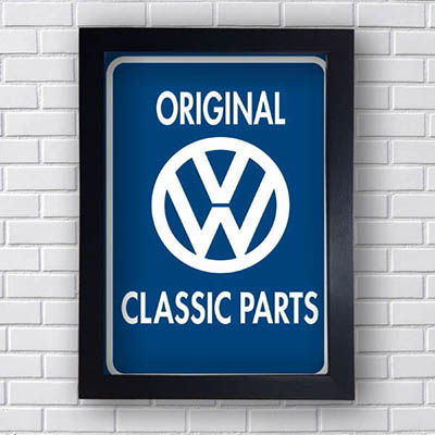 Quadro Carro Wolksvagem Original