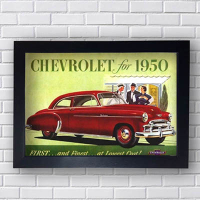 Quadro Chevrolet For 1950