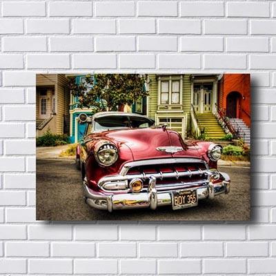 Quadro Decorativo Carro Antigo
