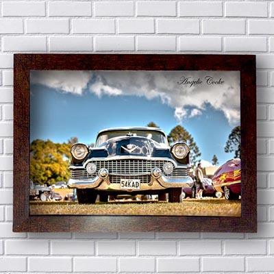 Quadro Decorativo Carro Vintage