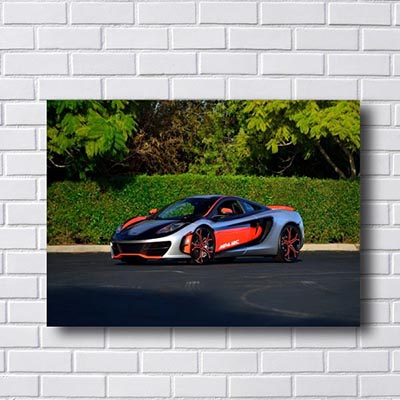 Quadro Decorativo Mclaren Mp4