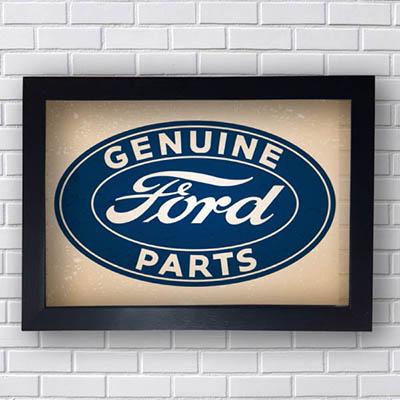 Quadro Ford Marca
