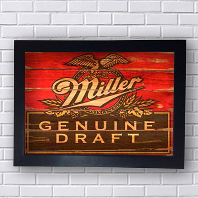 Quadro Miller Genuine Draft