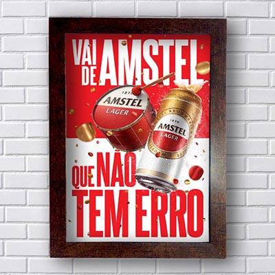Quadro Amstel Não tem erro