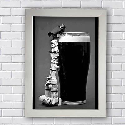 Quadro Beer Stormtrooper
