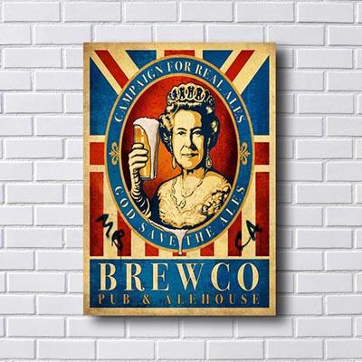 Quadro Brewco Rainha UK