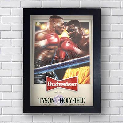 Quadro Budweiser TysonxHolyfield