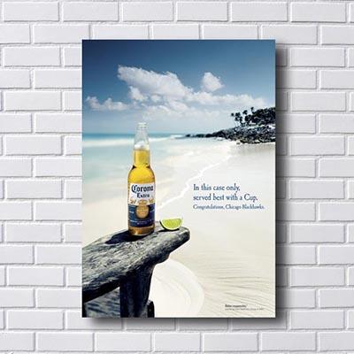Quadro Corona Cerveja