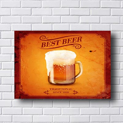 Quadro Decorativo Best Beer