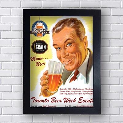 Quadro Decorativo Toronto Beer Week