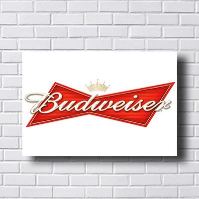 Quadro Vintage Budweiser
