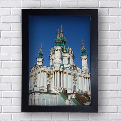 Quadro Decorativo Cidade Russia