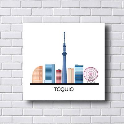Quadro  Decorativo Tóquio