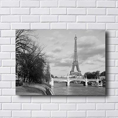 Quadro Torre Eiffel Retrô