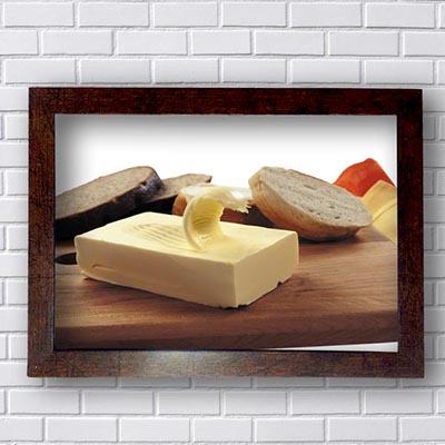 Quadros Cozinha Manteiga