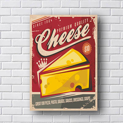 Quadro Decorativo Cheese