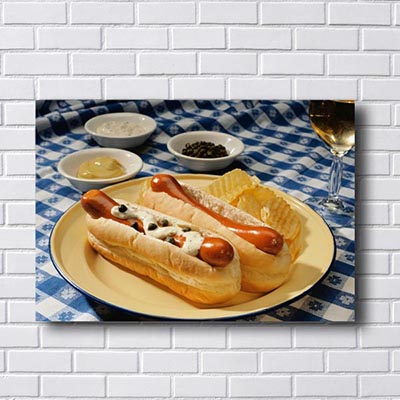 Quadros Decorativos Hot Dog