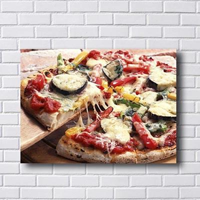 Quadros Decorativos Vintage Cozinha Pizza