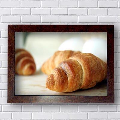 Quadros Para Padaria Croissant