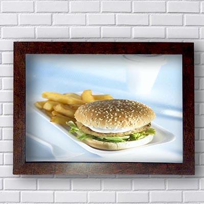 Quadros Para Restaurantes Hamburger
