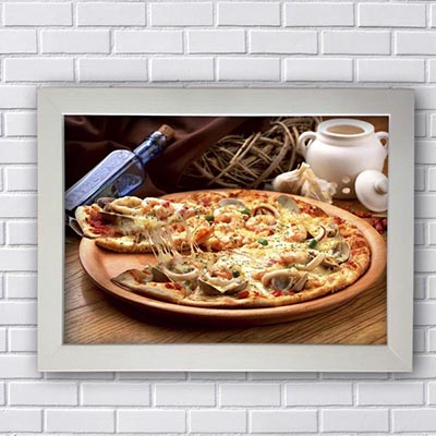 Quadros Vintage Para Restaurantes Pizza
