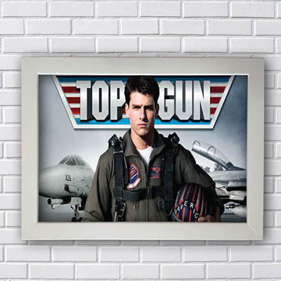 Quadro Decorativo Top Gun