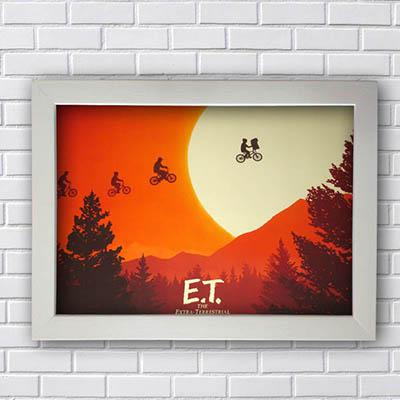 Quadro E.T. Extra Terrestre