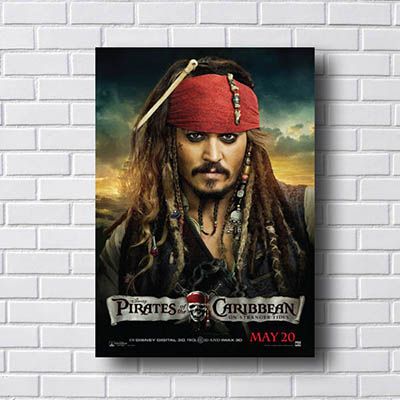 Quadro Piratas do Caribe