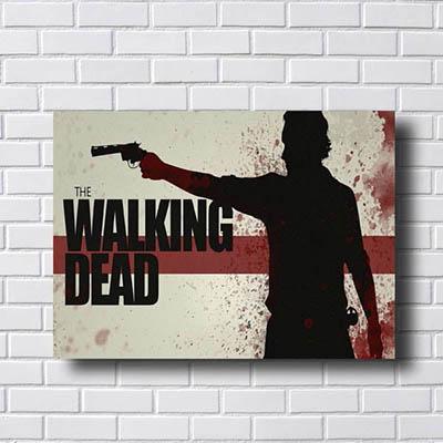 Quadro Serie Walking Dead
