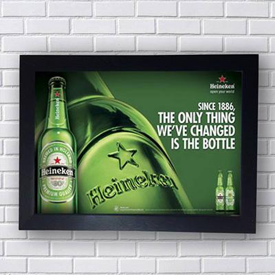 Quadro Heineken Since 1886