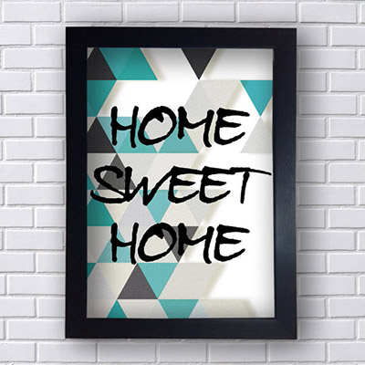 Quadro  Decorativo Home Swet