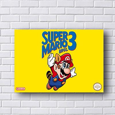 Quadro Super Mario Bros 3