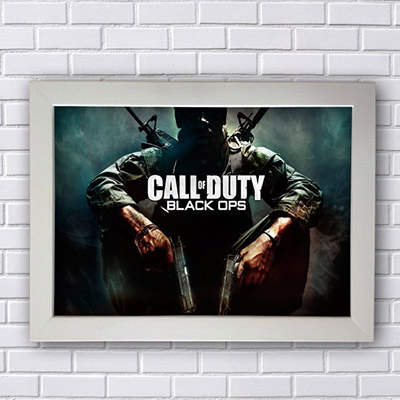 Quadro Call of Duty Black Ops