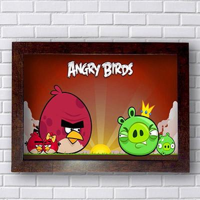 Quadro Angry Birds