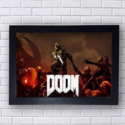 Quadro Doom Game