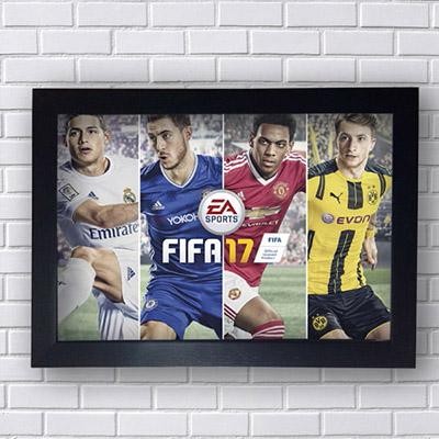 Quadro Decorativo Fifa 2017