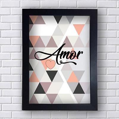 Quadro Decorativo Amor