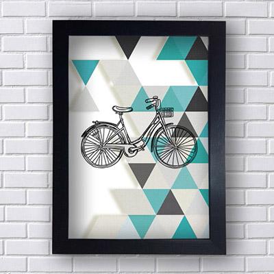 Quadro Decorativo Bicicleta