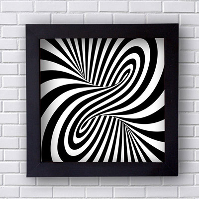 Quadro Decorativo Hipnotizante