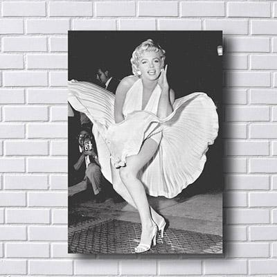 Quadro Decorativo Marilyn Monroe Cena do Vestido