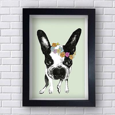 Quadro Decorativo de Cachorrinho