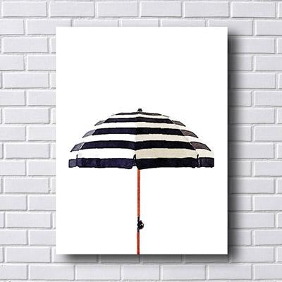 Quadro Decorativo Guarda - Chuva