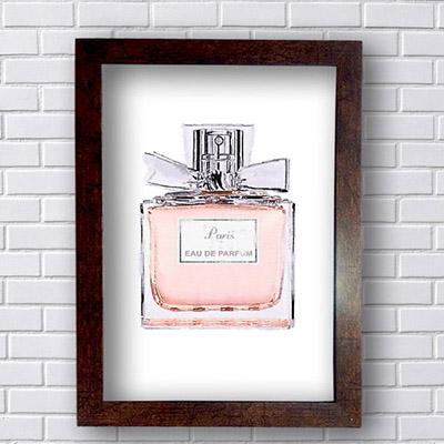Quadro Decorativo Paris Parfum