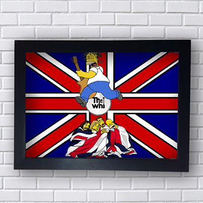 Quadro The Who Simpsons